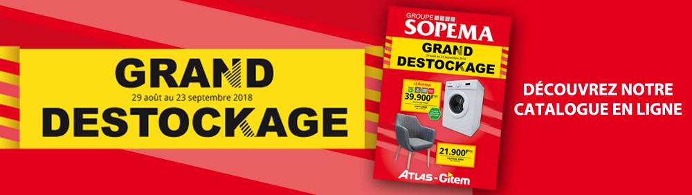 Catalogue Destockage ATLAS-GITEM